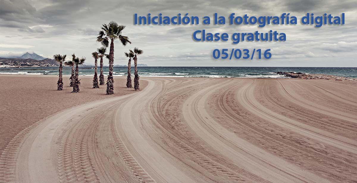 Clase gratuita de Iniciación a la fotografía digital